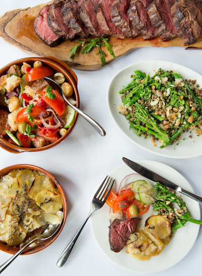 The Sunday Lunch at the Town House in Kensington is regularly voted one of the best in London.