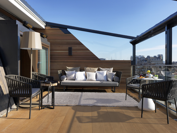 The Marylebone Suite is one of the most romantic in London, with amazing city views and a private outdoor terrace.