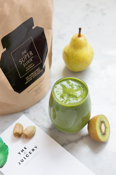 The Juicery Super Green Smoothie