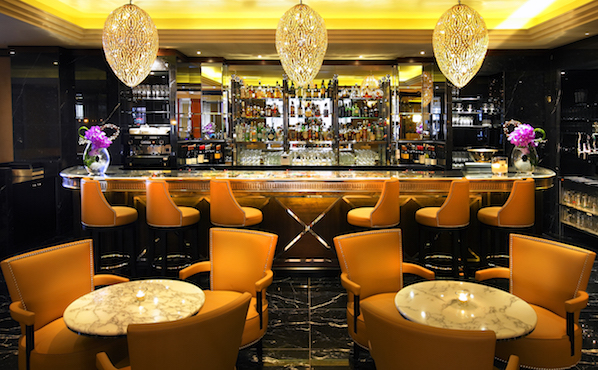 The Sidecar bar at The Westbury hotel is the perfect spot for a cocktail in the centre of Dublin, with award winning bartenders.