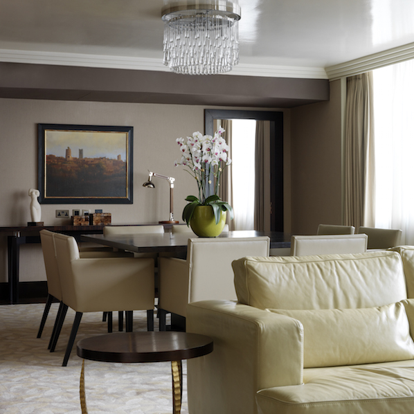 The Westbury's presidential suite is luxurious, discreet, private and full of unique touches, right in the heart of Dublin.