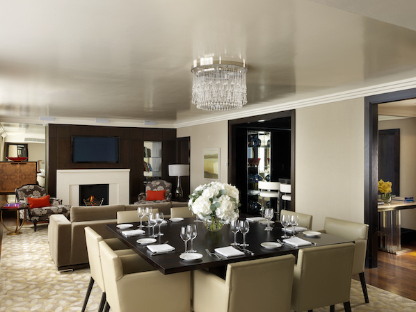 The presidential suite in The Westbury is one of the most luxurious in the city and has hosted dignitaries and celebrities from around the world.