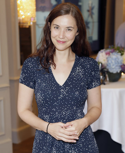 Lisa Hannigan performed at the launch of the All Through the Night Poetry Anthology at The Westbury