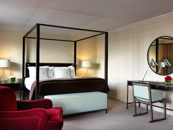 A luxury studio suite at The Westbury in Dublin