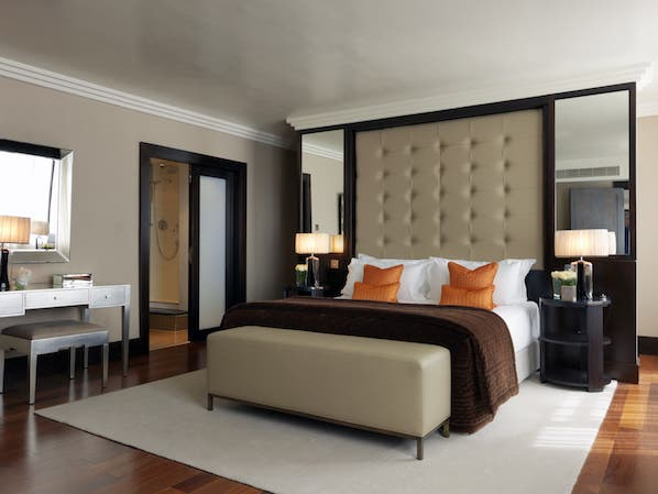 The Westbury have a selection of suites that offer a luxurious stay in the heart of Dublin city, with decadent touches.