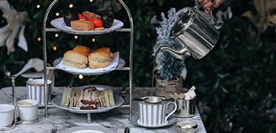 Afternoon Tea at Dalloway Terrace