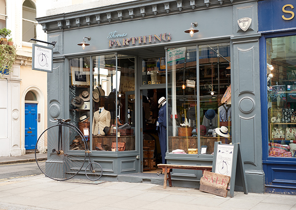 Bloomsbury independent boutique - Thomas Farthing