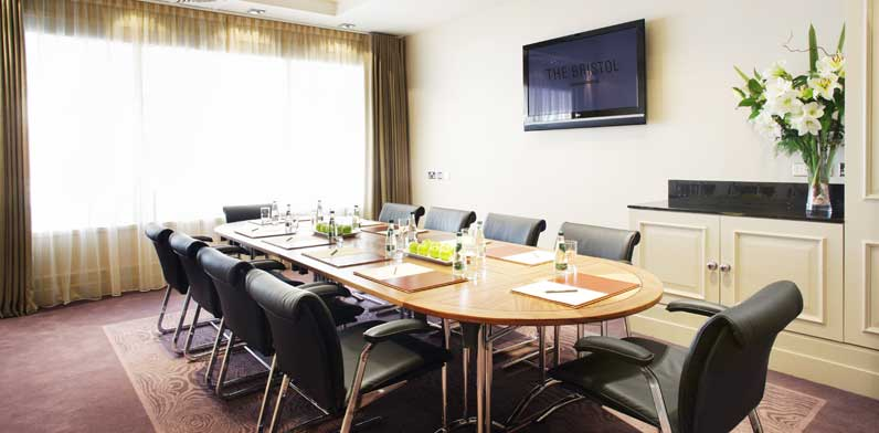 William West Boardroom set up