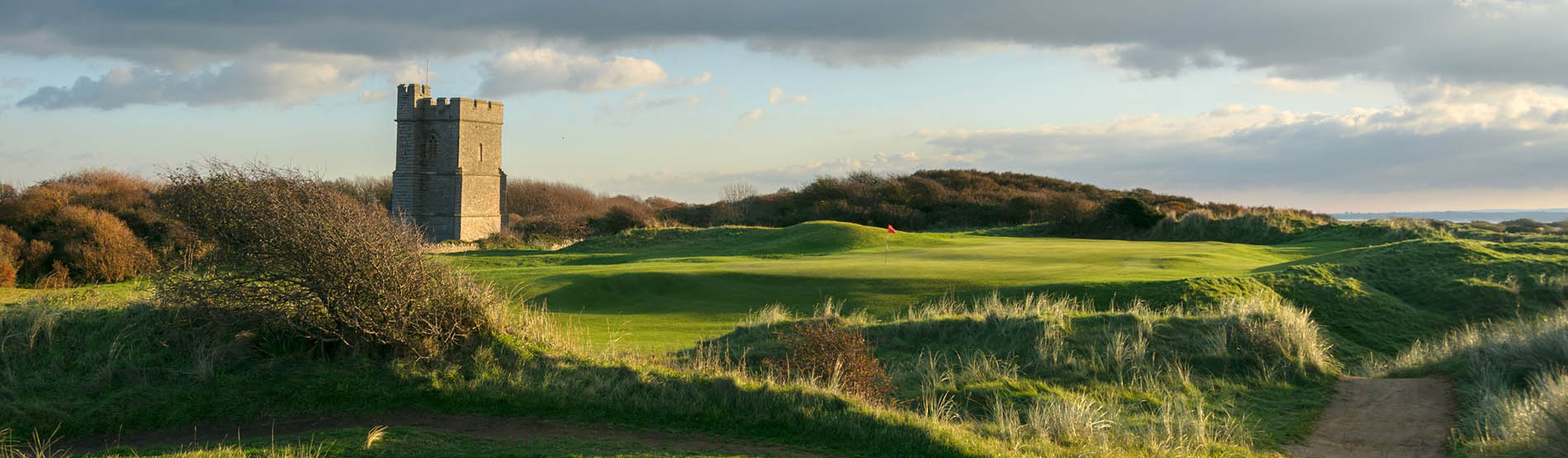 Hole 12 at Burnham & Berrow Golf Club