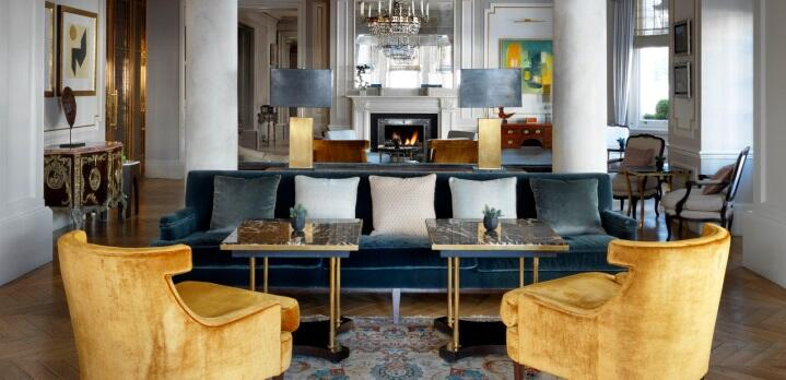 The Drawing Room at The Kensington hotel in London