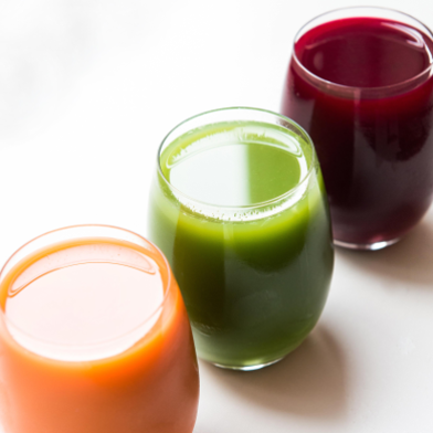 Healthy Juices from The Juicery in The Kensington