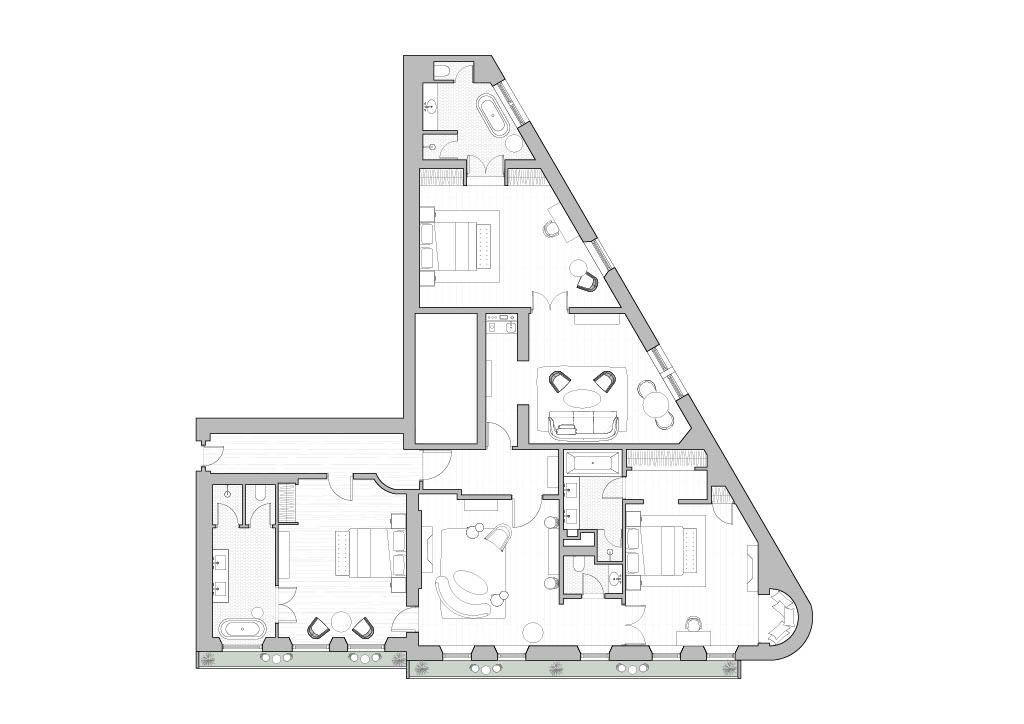 Kensington Suite floor plan