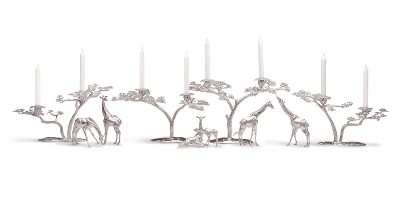 Patrick Mavros Root Tree & Sable Candle Holder