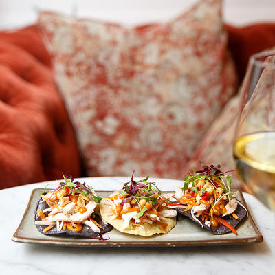108 Brasserie Tostadas at The Marylebone