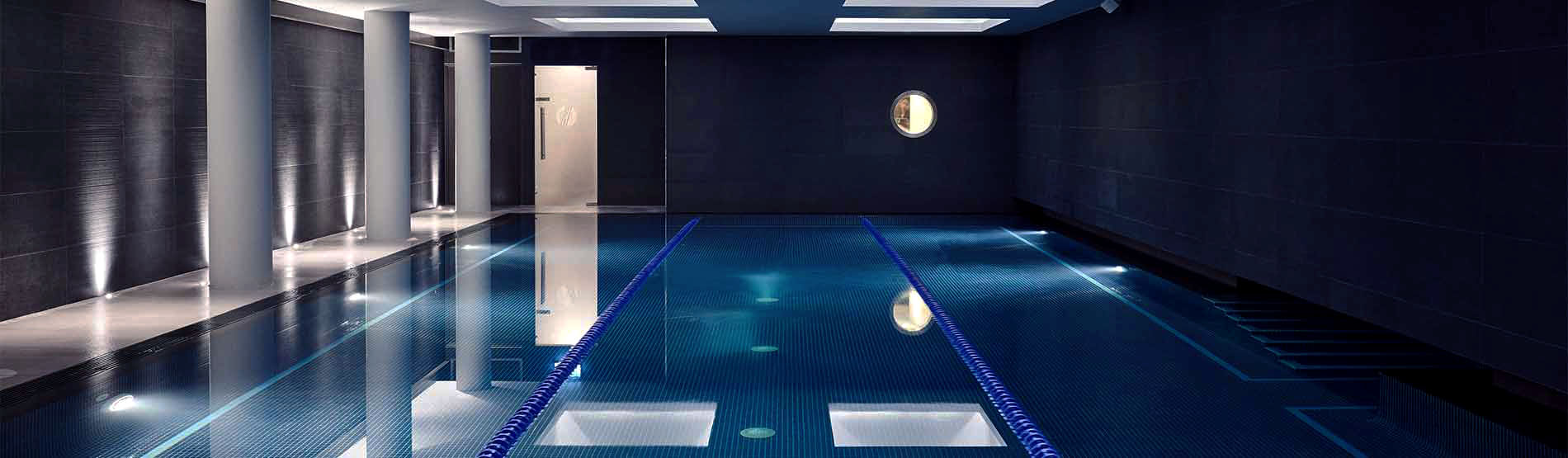 Swimming pool at The Marylebone