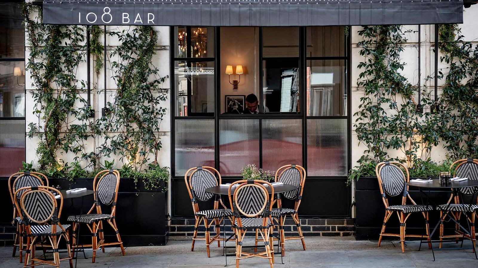 Outside of 108 Brasserie at The Marylebone