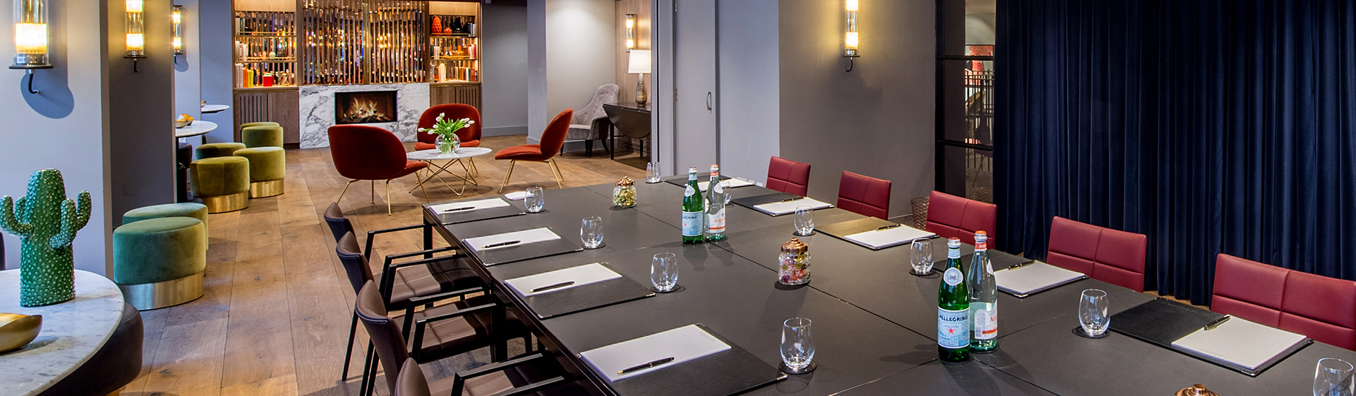 The Long Room boardroom at The Marylebone