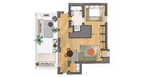 Marylebone Floor Plan Preview Image