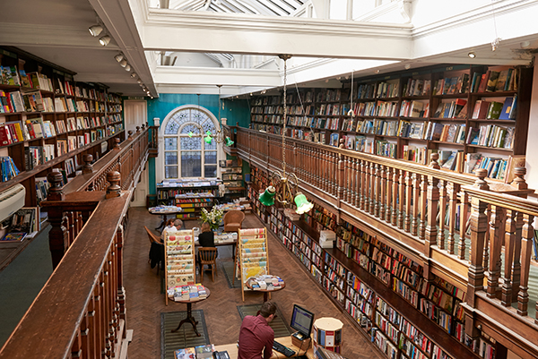 Daunt Books - this local Edwardian landmark is as much library as it is bookstore