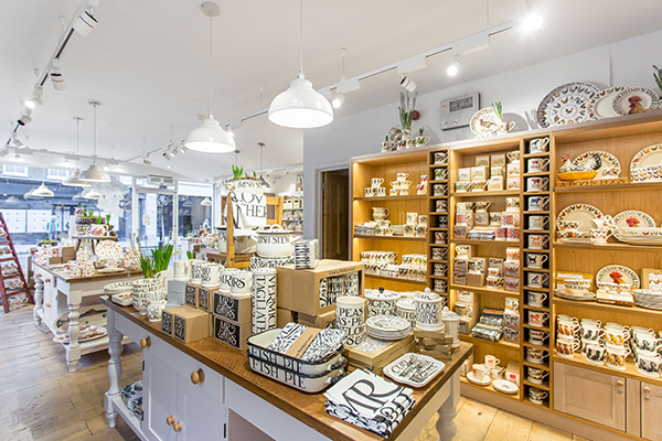 Emma Bridgewater  - the nation's go-to suppliers of personalised crockery and pottery since the '80s