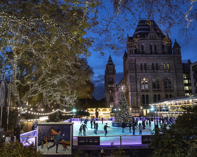 Natural History Museum - Ice Rink