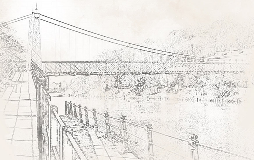 Shakey Bridge Sketch
