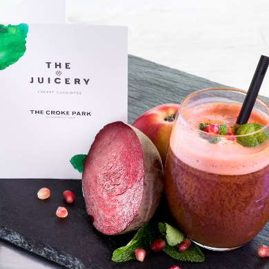 Healthy Juices from The Juicery in The Croke Park