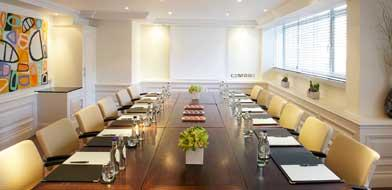 Meetings at The Marylebone