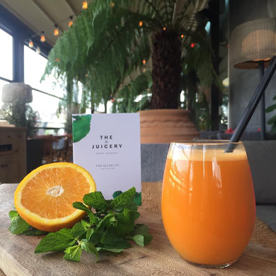 Healthy Juices from The Juicery in The River Lee