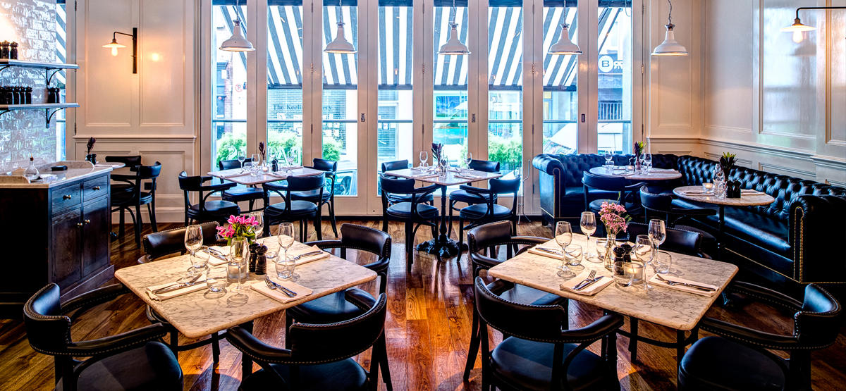 Dining at The Westbury Hotel Dublin Ireland
