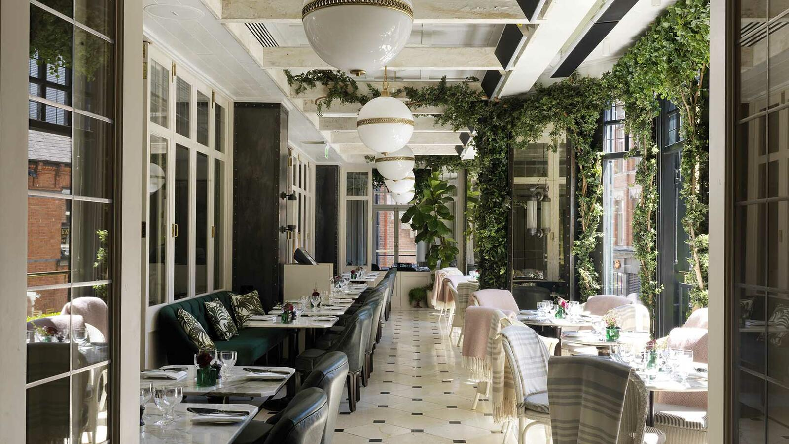 Wilde restaurant at The Westbury hotel in Dublin