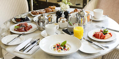 Breakfast at The Westbury