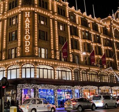 Harrods Department store (outside)