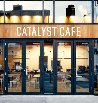 Catalyst Cafe (outside)