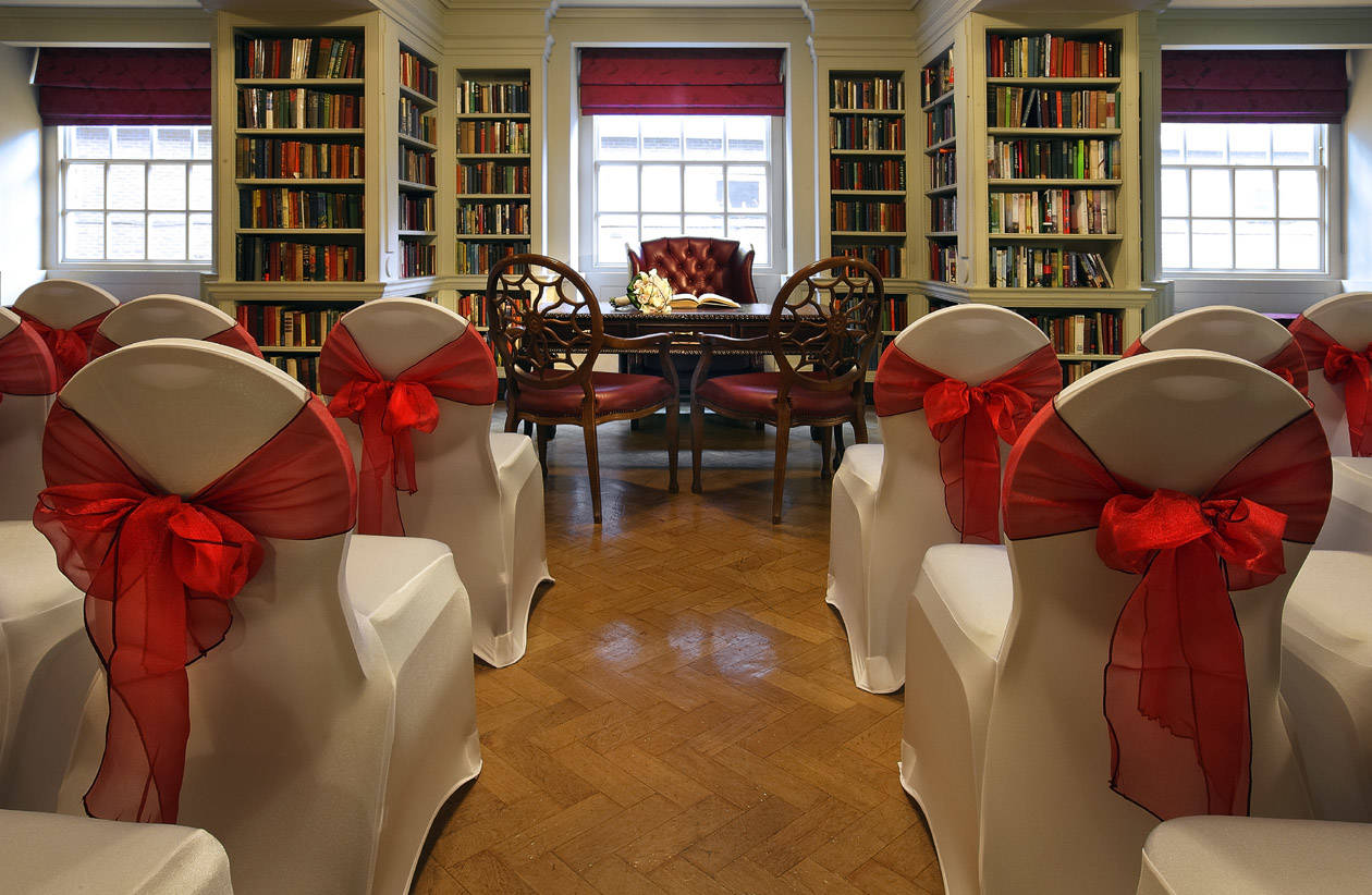 Wedding Ceremony in The Seamus Heaney Library