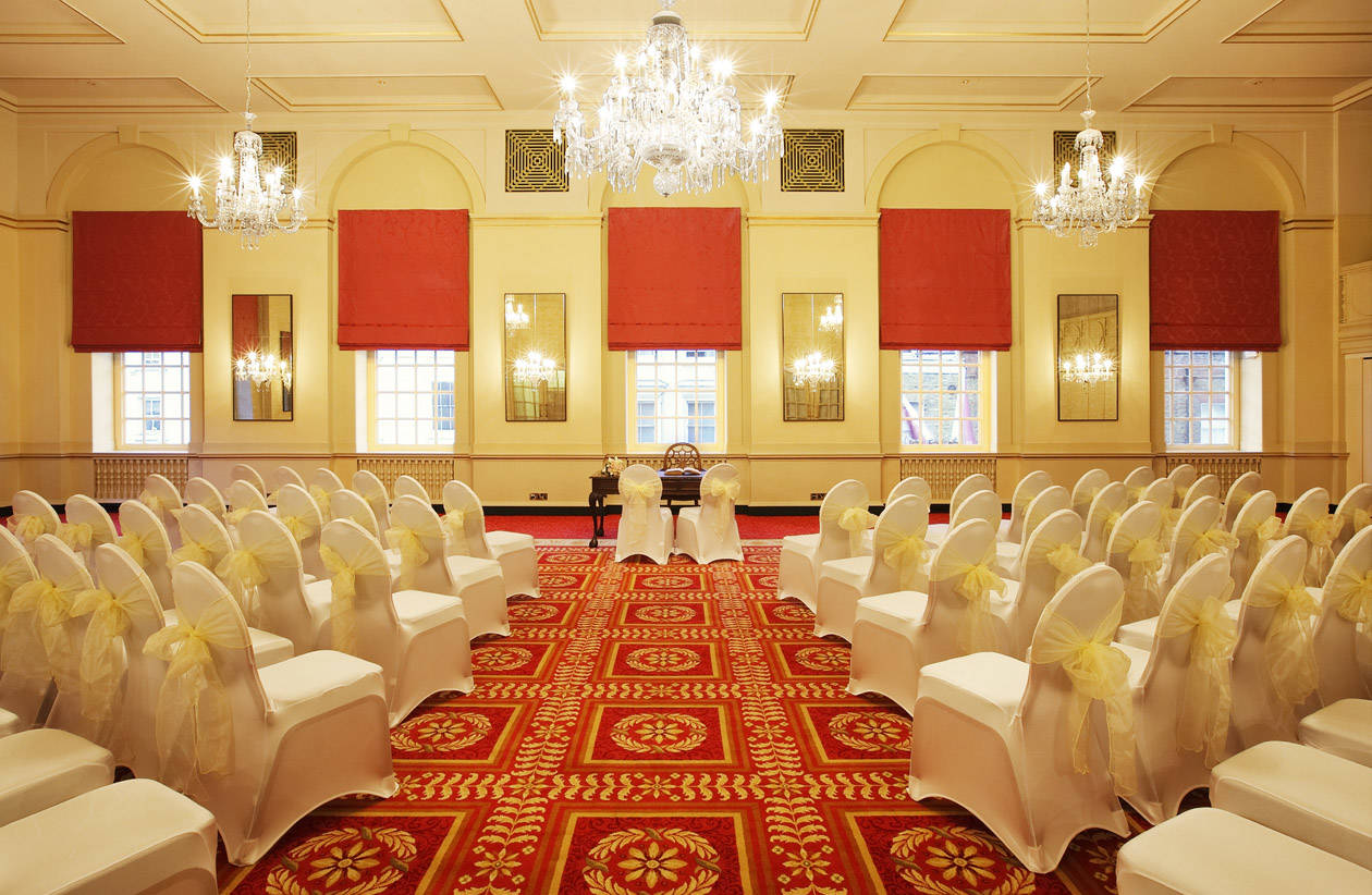 Wedding Ceremony in Queen Mary Hall