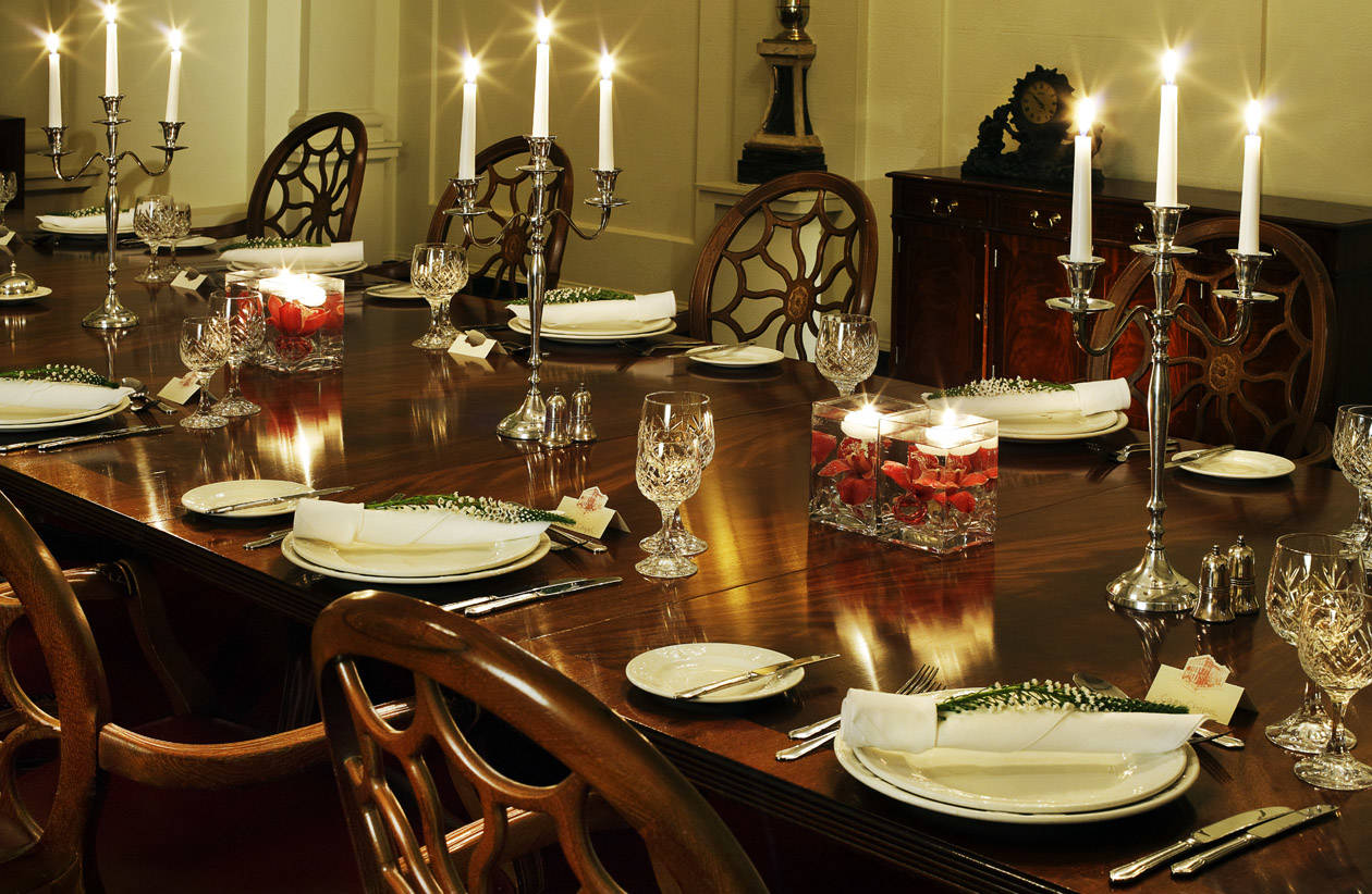 Private Dining in The Chapel