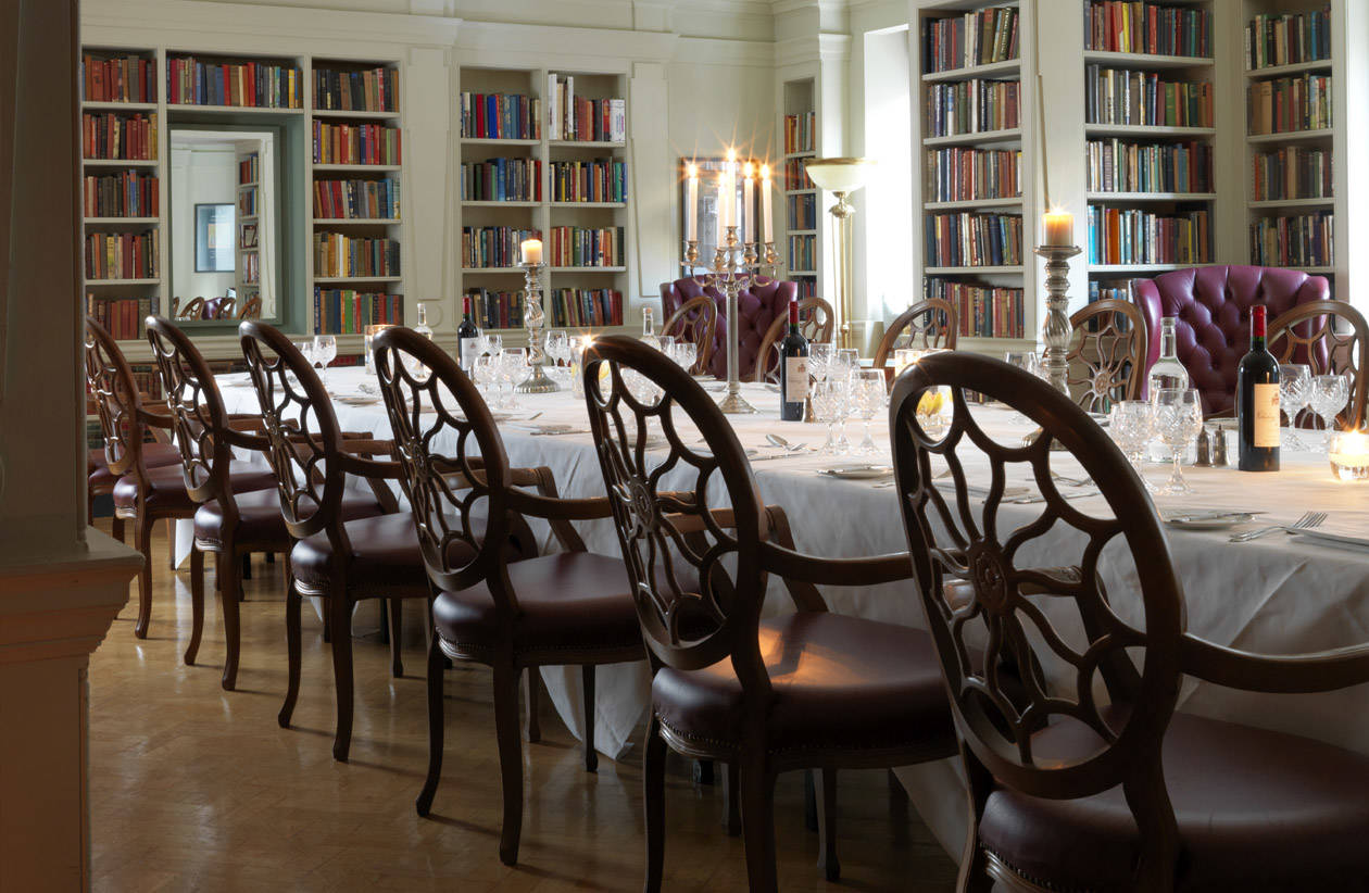 Private Dining in The Seamus Heaney Library